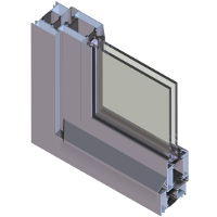 Dualframe 75 High Performance Door Systems